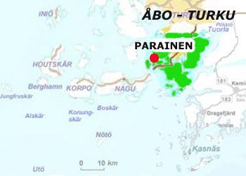 Parainen map