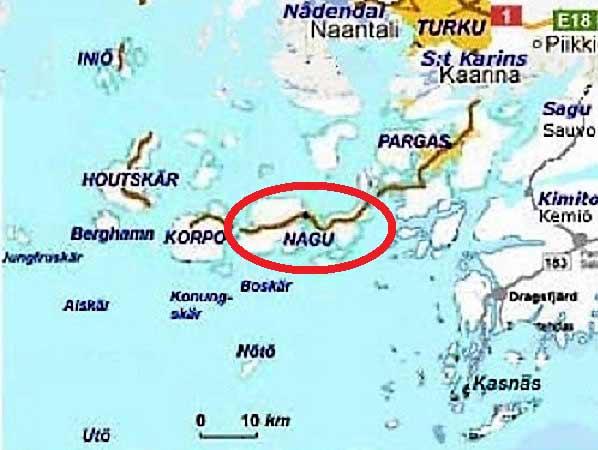 Nagu map