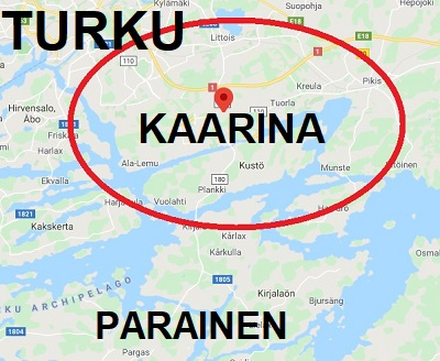 Kaarina Map