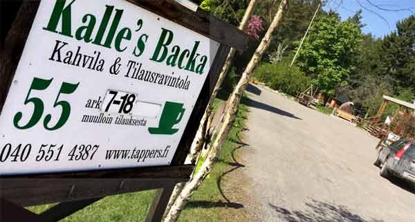 Kalle´s Backa Cafe