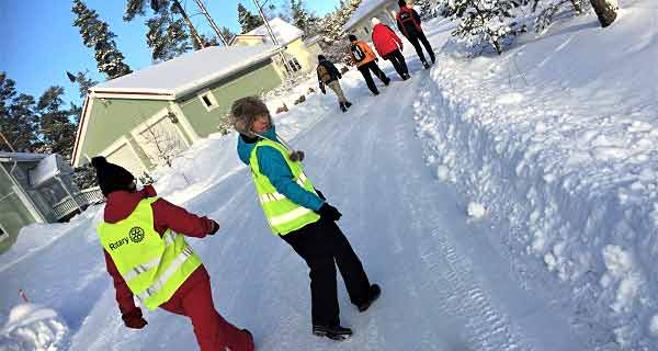 Boka söndagen den 12.1.2020 - Gå ett yrke åt en kvinna i S:t Olofs spår