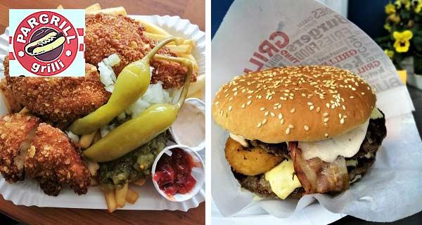 Pargrill burger Nagu