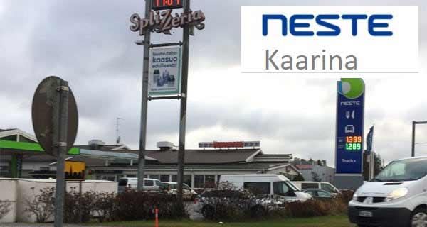 Neste Oil - S:t Karins