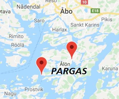 Pargas map