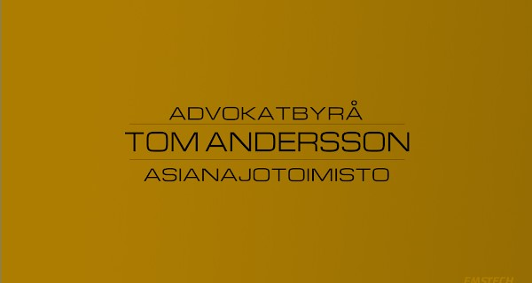 Advokatbyrå Tom Andersson