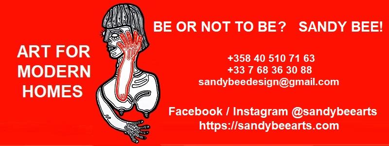 Länk till Sandy Bee Arts hemsida