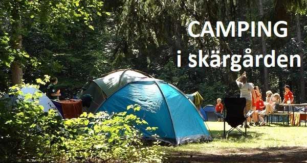 Camping i skärgården