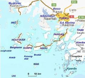 åbo karta Destination Skärgården Finland   Fritid   Natur   Rekreation åbo karta