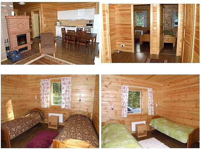Meripesä stuga #75 - Vard.rum och sovrum
