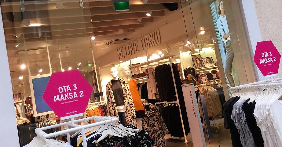Shoppa i Åbo city